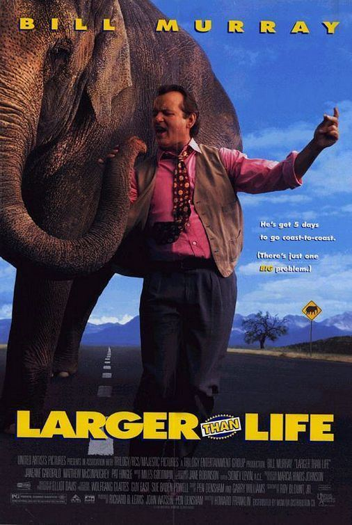 Larger than Life (film) LARGER THAN LIFE Movieguide Movie Reviews for Christians