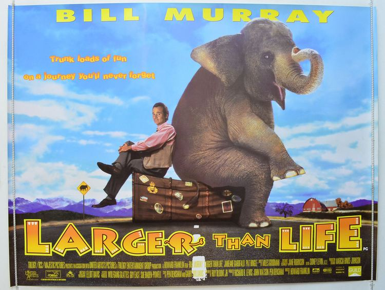 Larger than Life (film) Larger Than Life Official Trailer Actors Locations Photos and