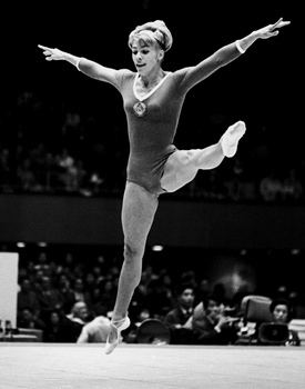 Larisa Latynina International Gymnast Magazine Online Latynina Graceful as Olympic