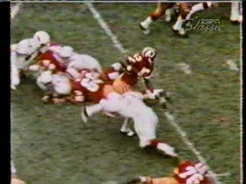 Larry Brown (running back) Larry Brown Old School running back YouTube