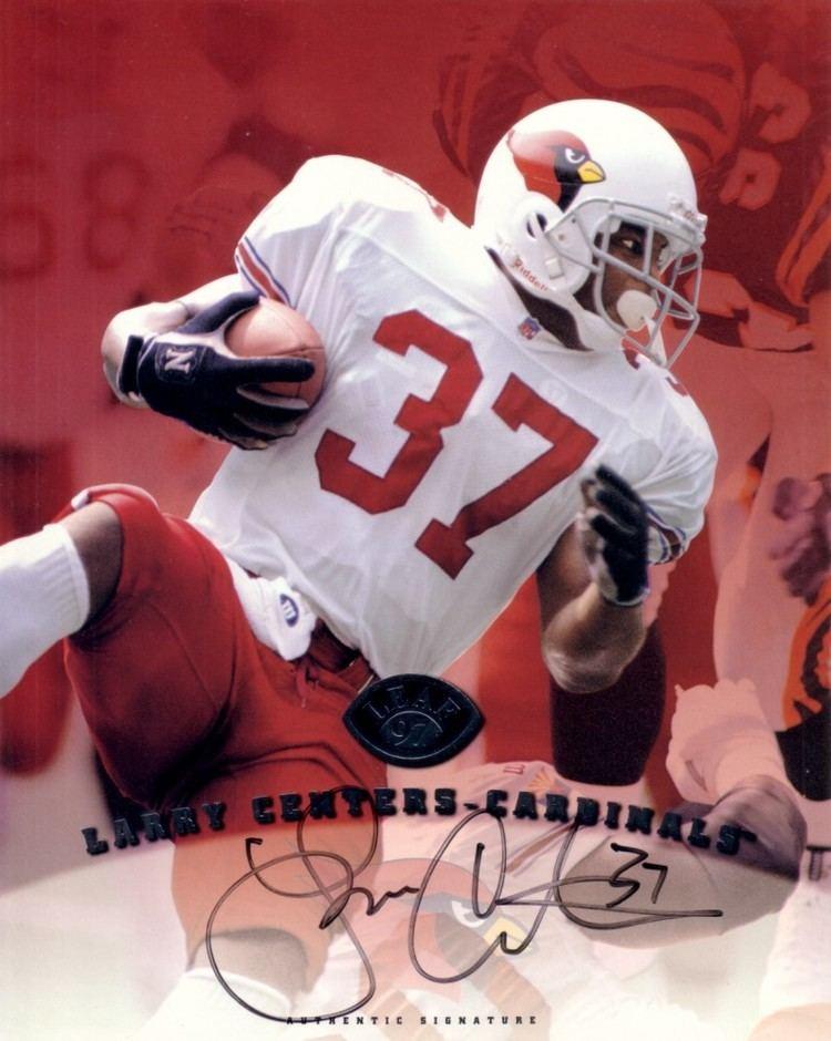 Larry Centers Larry Centers certified autograph Arizona Cardinals 1997