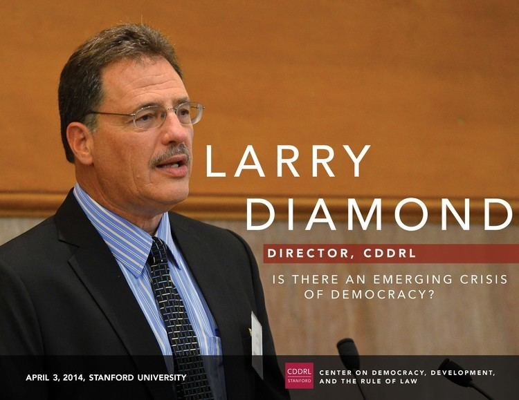 Larry Diamond Larry Diamond Is There an Emerging Crisis of Democracy