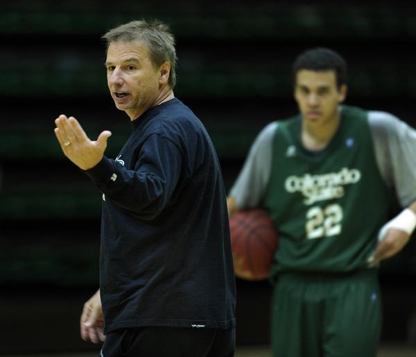 Larry Eustachy Larry Eustachy CSU Rams basketball coach past addiction
