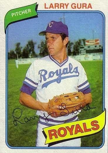 Larry Gura Larry Gura Kansas City Royals 1980 Topps Baseball 295 Larry Gura