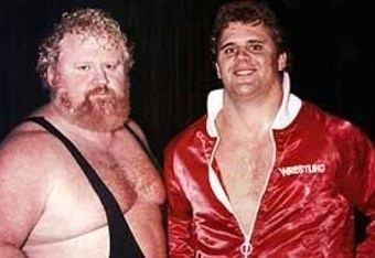 Larry Hennig Larry quotthe Axequot Hennig amp son Curt quotSoon to be Perfect but