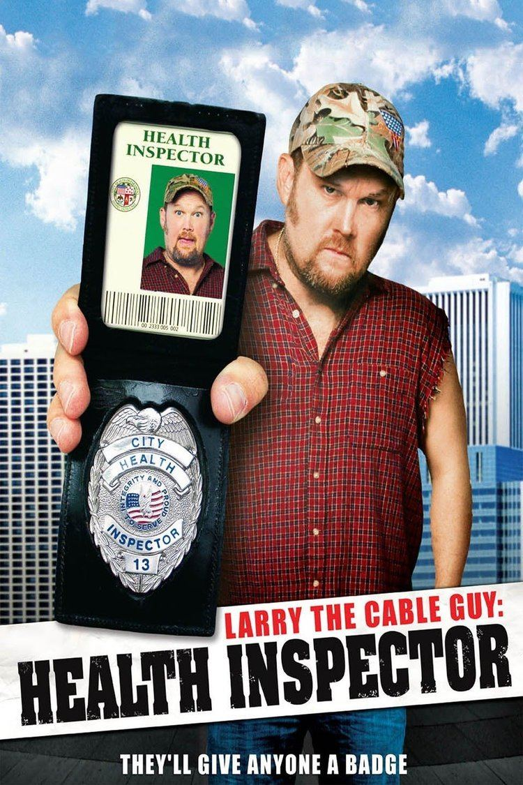 Larry the Cable Guy: Health Inspector wwwgstaticcomtvthumbmovieposters160557p1605