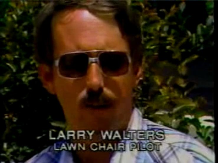 Larry Walters Action Hero Profile Larry quotLawn Chair Larryquot Walters