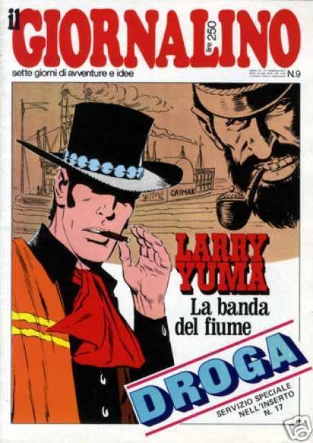 Larry Yuma Il Giornalino 197709 Larry Yuma La Banda del Fiume Issue