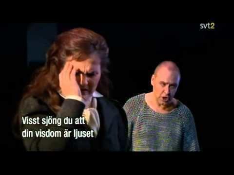 Lars Cleveman Katarina Dalayman Lars Cleveman Siegfried duet YouTube