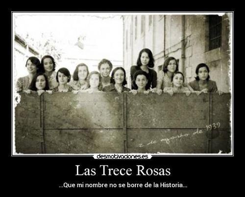 Las 13 rosas las 13 rosas Tumblr