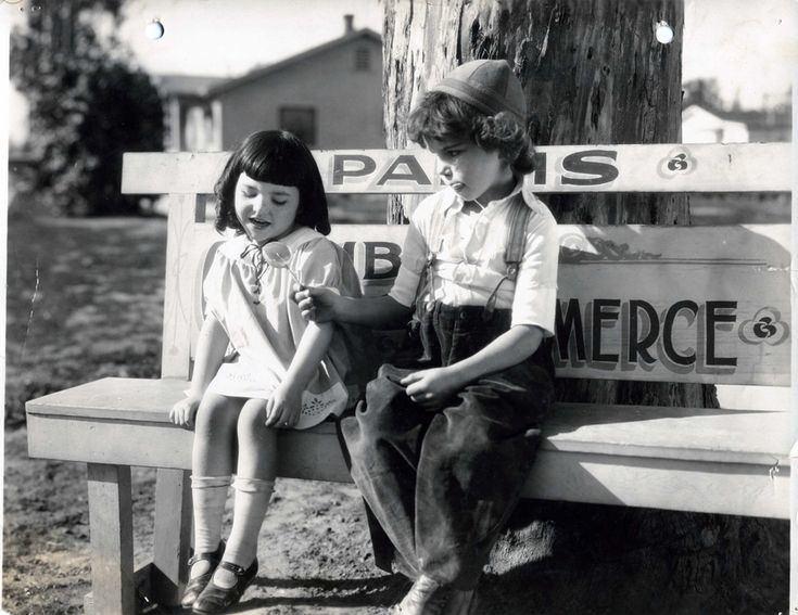 Lassie Lou Ahern The little girl here is Our Gang member Lassie Lou Ahern