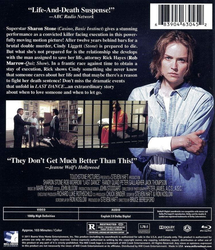 Last Dance (1996 film) Last Dance Bluray