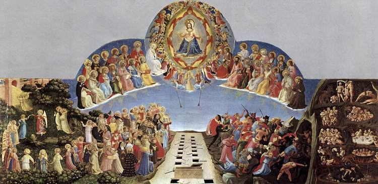 Last Judgment Last Judgment c1431 Fra Angelico WikiArtorg