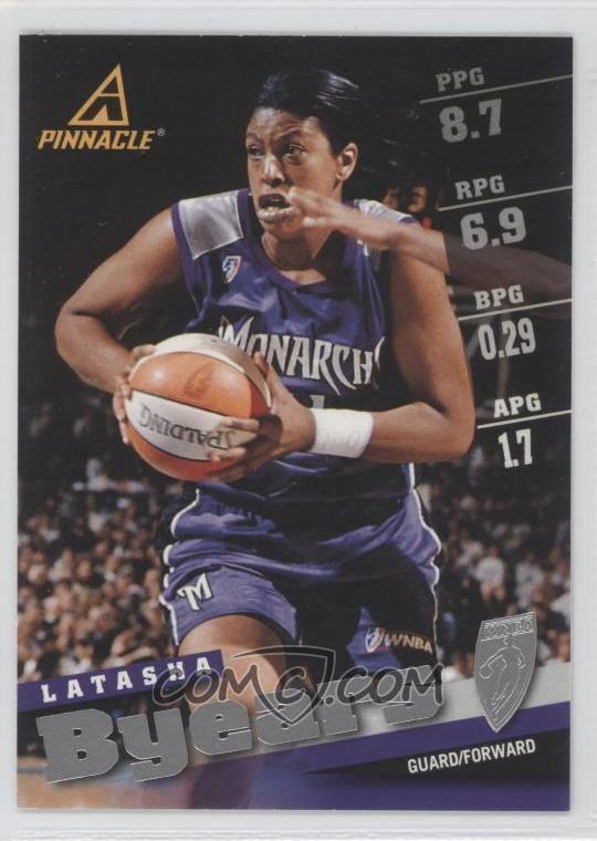 Latasha Byears 1998 Pinnacle WNBA Base 45 Latasha Byears COMC Card Marketplace