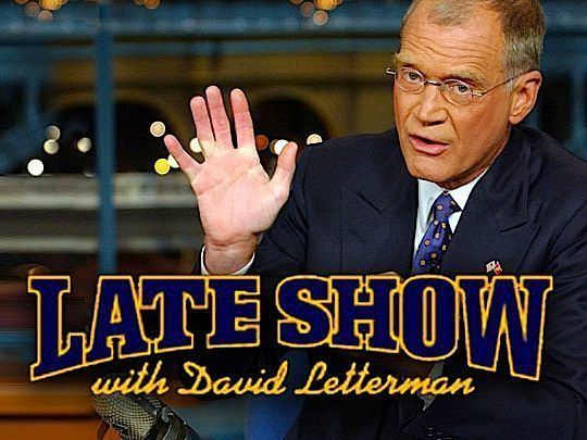 Late Show with David Letterman Late Show with David Letterman a Guest Stars amp Air Dates Guide