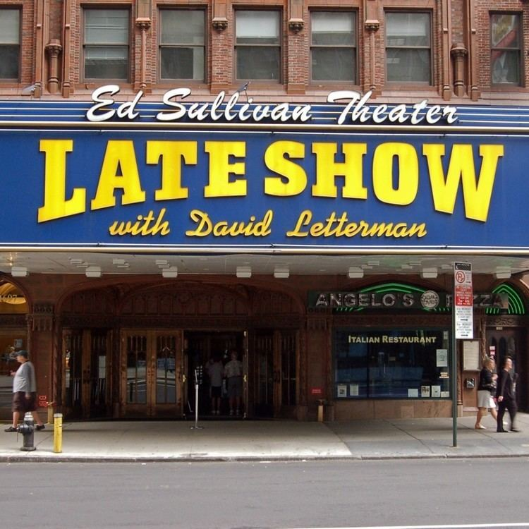 Late Show with David Letterman See the Late Show with David Letterman with VIP Tickets