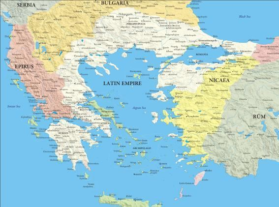 Latin Empire Inflation in the Latin Empire of Constantinople I The Fourth