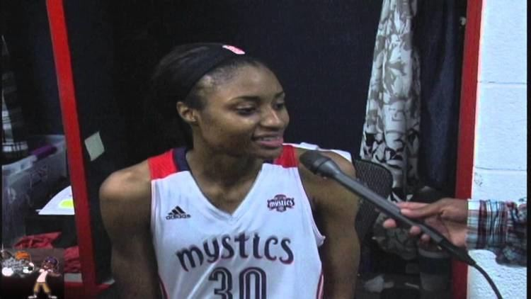 LaToya Sanders Sanders quotWe came out played with a sense of urgency
