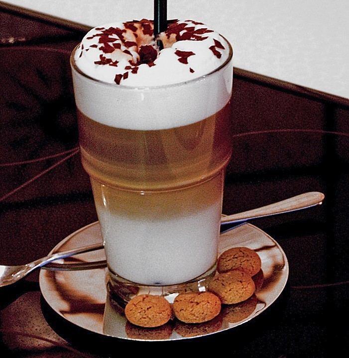 Latte macchiato Latte macchiato Rezept mit Bild von Hondadiva Chefkochde