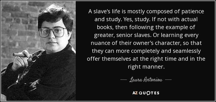 Laura Antoniou TOP 6 QUOTES BY LAURA ANTONIOU AZ Quotes