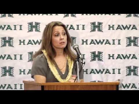 Laura Beeman New UH Womens Basketball Coach Laura Beeman Press Conference YouTube