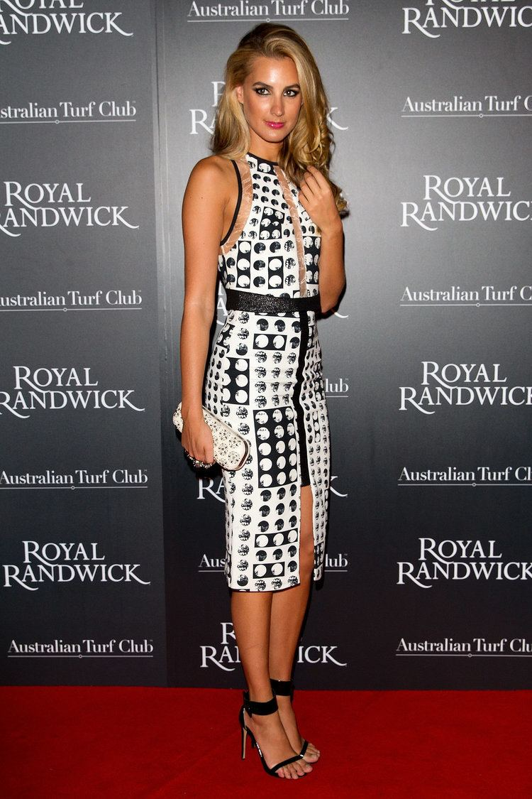 Laura Dundovic Laura Dundovic at ATC Grandstand Gala Launch Wardrobe