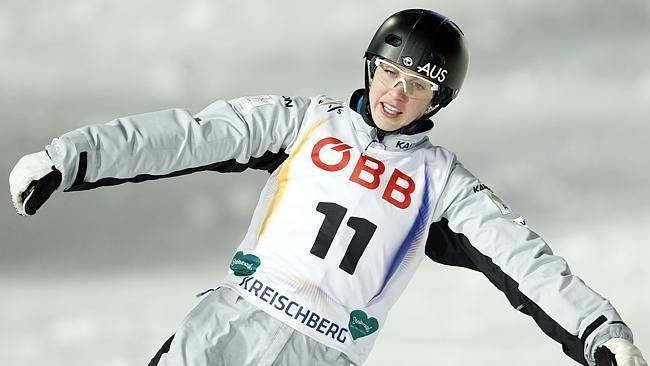 Laura Peel Freestyle skiing aerials Australia39s Laura Peel wins gold