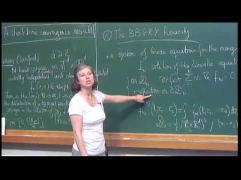 Laure Saint-Raymond Mini Course From particle systems to collisional kinetic equations