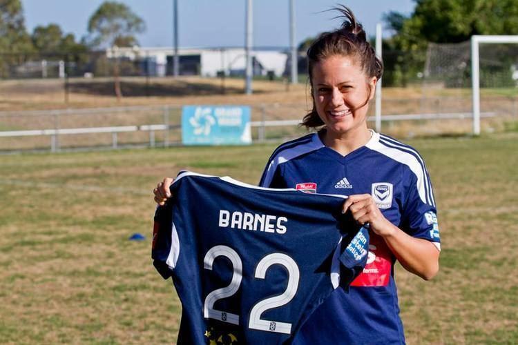 Lauren Barnes Barnes excited for Victory stint The Corner Flag