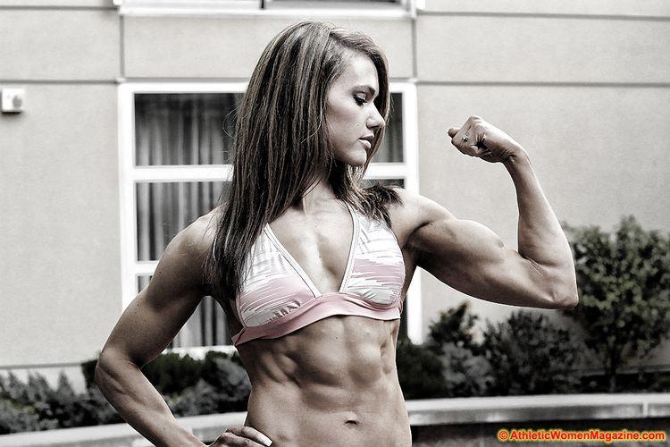 Lauren Lillo Athletic Women Magazine May 2012