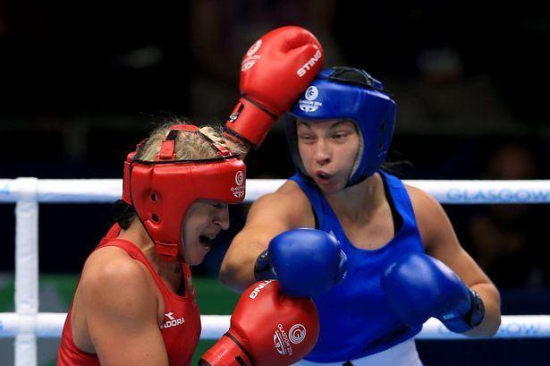 Lauren Price Commonwealth Games 2014 Womens boxer Lauren Price creates history
