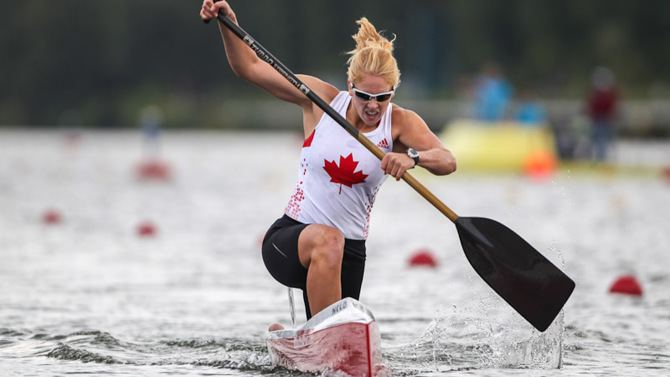 Laurence Vincent-Lapointe VincentLapointe dominates at world canoe champs again