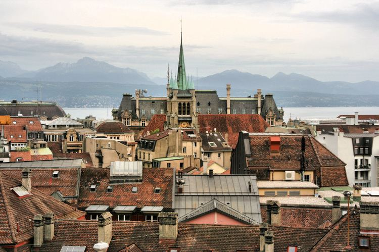 Lausanne in the past, History of Lausanne