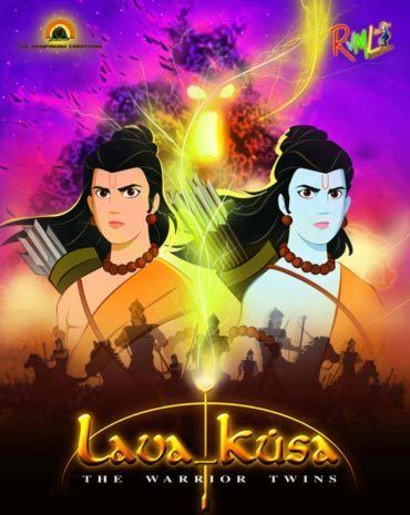 An animation film on LavaKusa Rediffcom Movies