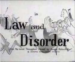 Law and Disorder (1958 film) wwwstojocomimagesGrabsLaw20Disorder2003jpg