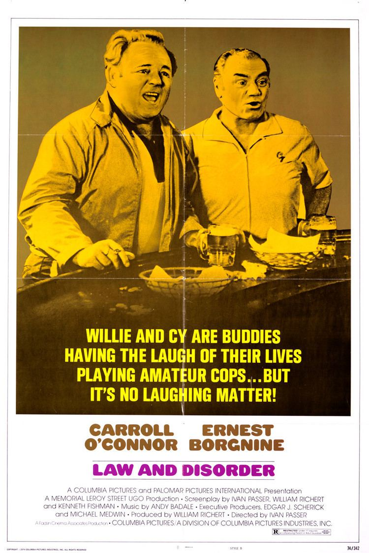 Law and Disorder (1974 film) wwwgstaticcomtvthumbmovieposters3382p3382p