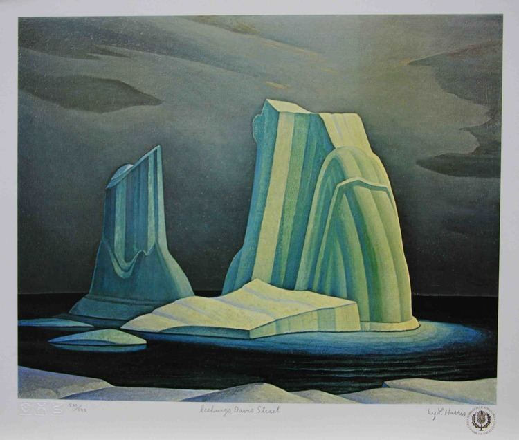 Lawren Harris Art Country Canada Group of Sseven LAWREN HARRIS