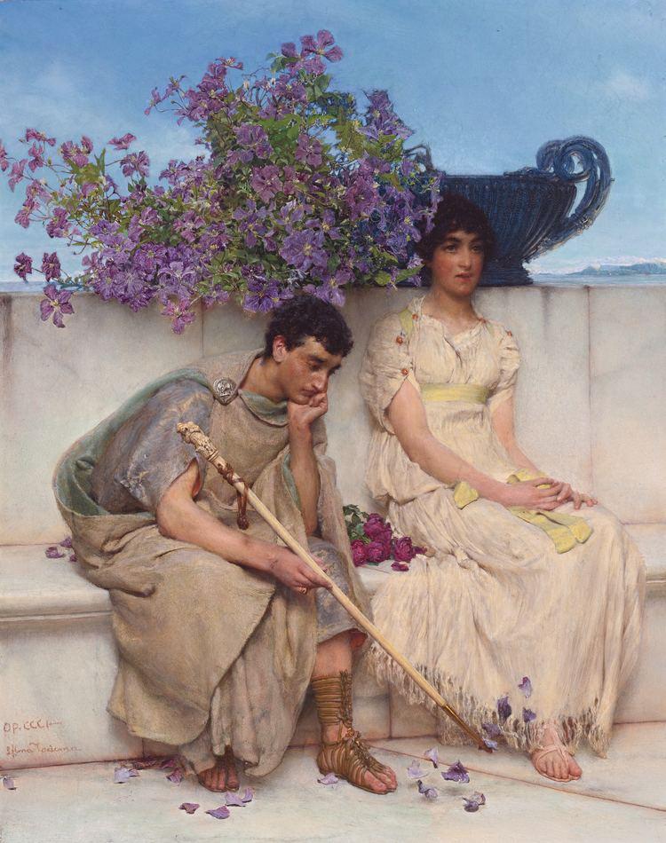 Lawrence Alma-Tadema Lawrence AlmaTadema Wikipedia the free encyclopedia