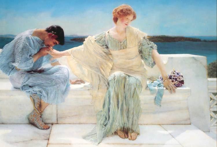 Lawrence Alma-Tadema Ask me no more Sir Lawrence AlmaTadema WikiArtorg