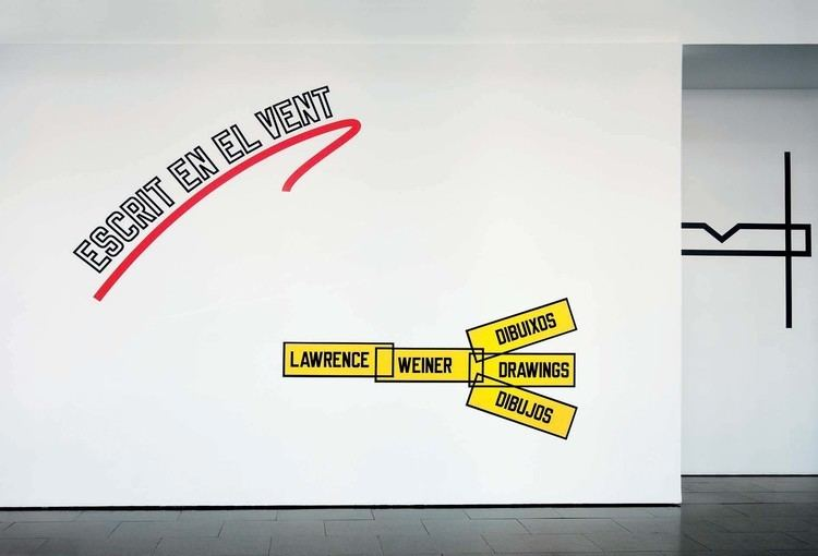 Lawrence Weiner Written on the Wind