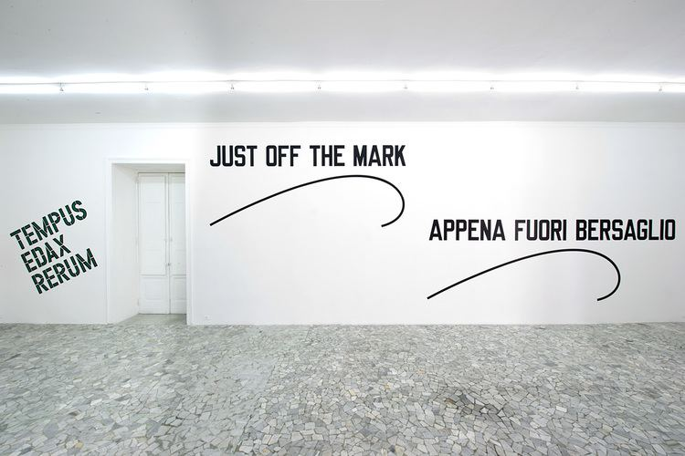 Lawrence Weiner Lawrence Weiner at Alfonso Artiaco Contemporary Art Daily
