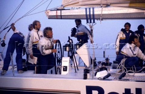 Lawrie Smith A0010156 Helmsman Lawrie Smith and navigator Vincent