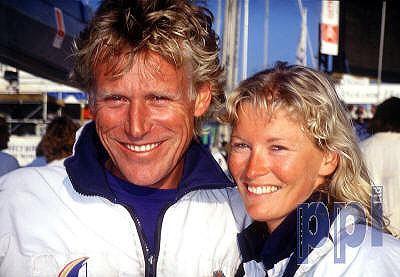 Lawrie Smith PPL Photo Agency British yachtsman Lawrie Smith and wife
