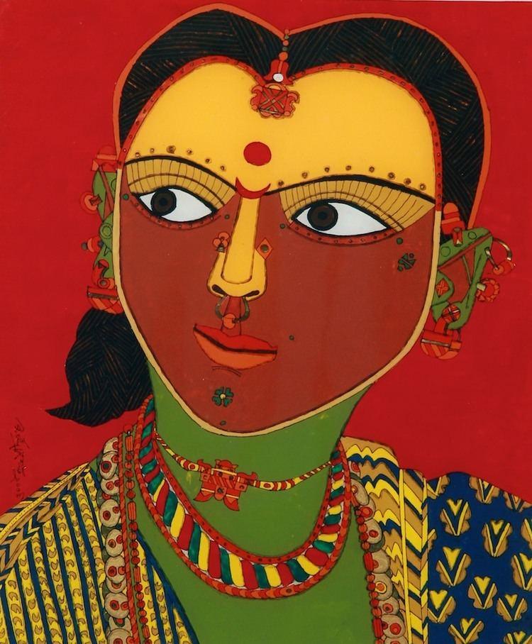 Laxma Goud Sanchit Art K Laxma Goud Paintings Art Gallery