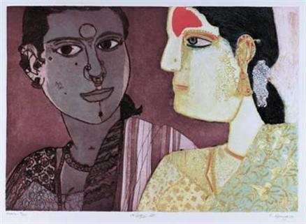 Laxma Goud Saffronart K Laxma Goud Untitled 1999