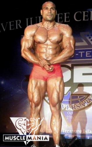 Laxman Reddy Musclemania Reddy for Show Time