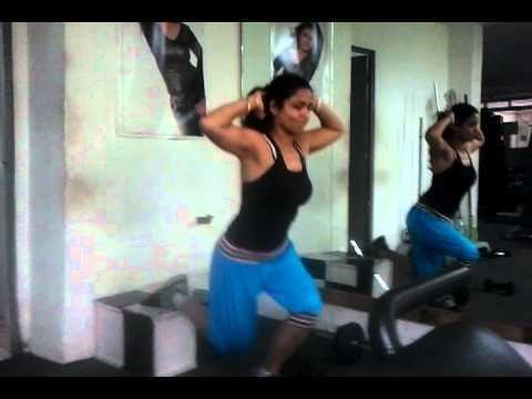 Laxman Reddy kiran with her personal trainer mr world 2010 laxman reddy YouTube