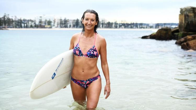 Layne Beachley Surf legend Layne Beachley is riding a new fashion wave to the stars