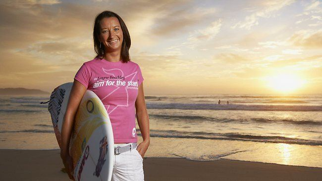 Layne Beachley World champion surfer Layne Beachley announces end to