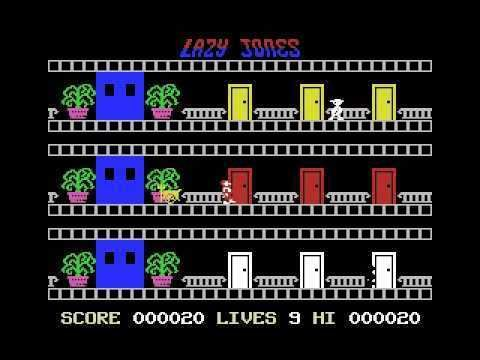 Lazy Jones Lazy Jones 1984 Terminal Software MSX YouTube